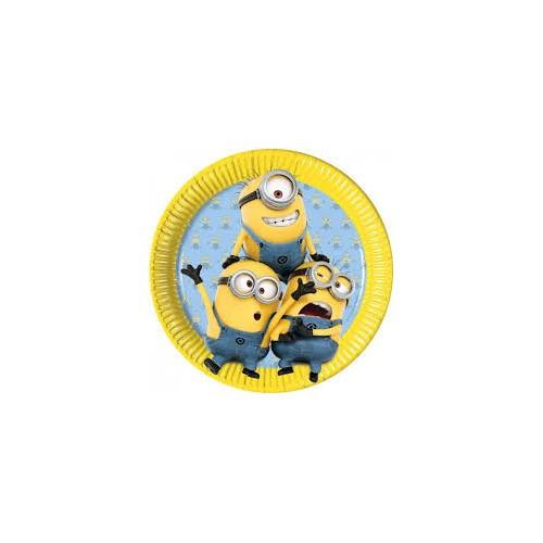 Minions plates 23 cm