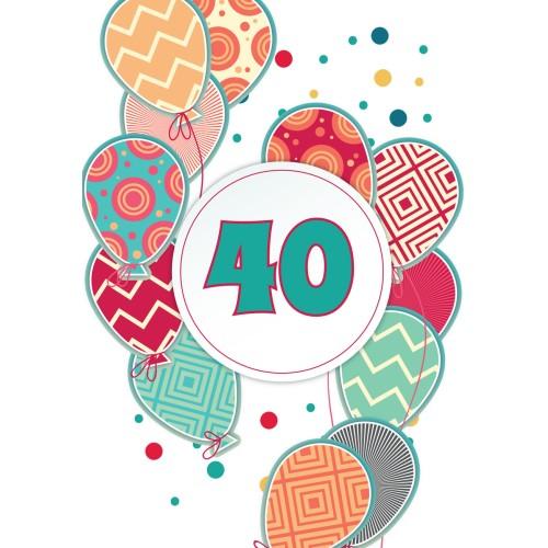 Voščilnica vse najboljše 40