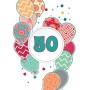 Voščilnica vse najboljše 50