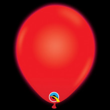 Red light up balloon