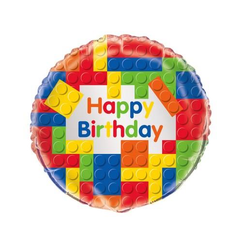 Building Blocks  - foil balloon