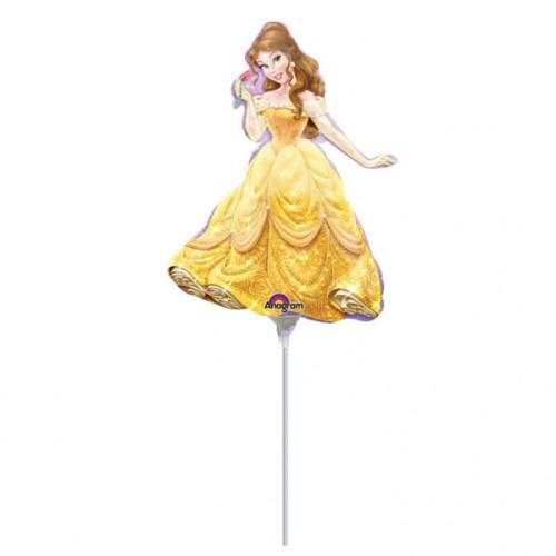 Belle  - foil balloon on a stick