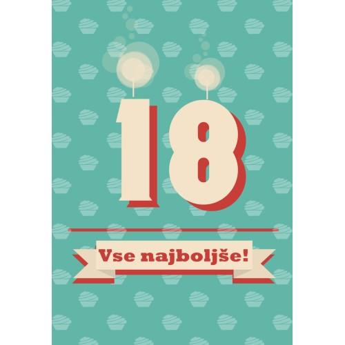 Greeting card vse najboljše 18