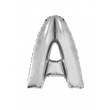 Letter A  - silver