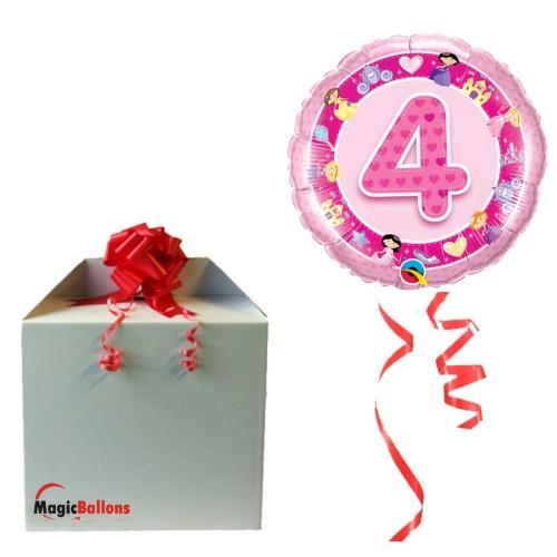 Balloon Age 4 Pink Princess