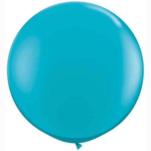 Ballon - Tropical Teal 90 cm - 2 Stk.