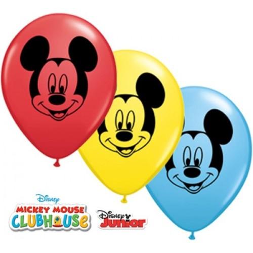 Balloon Mickey Mouse face