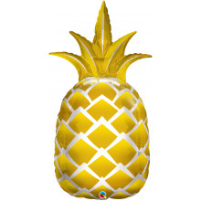 Golden pineapple - folija balon