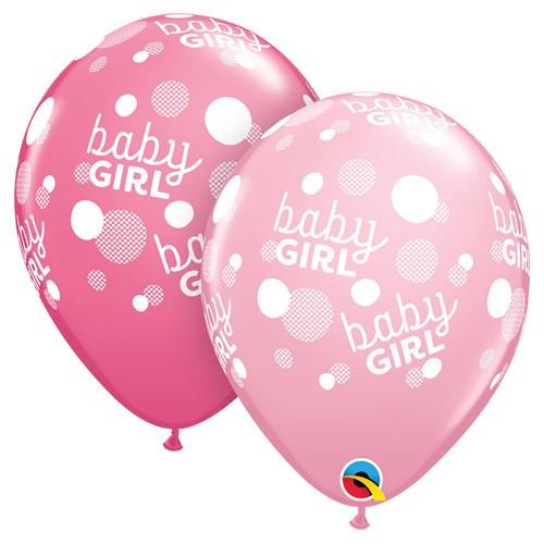 Ballon Baby girl pink