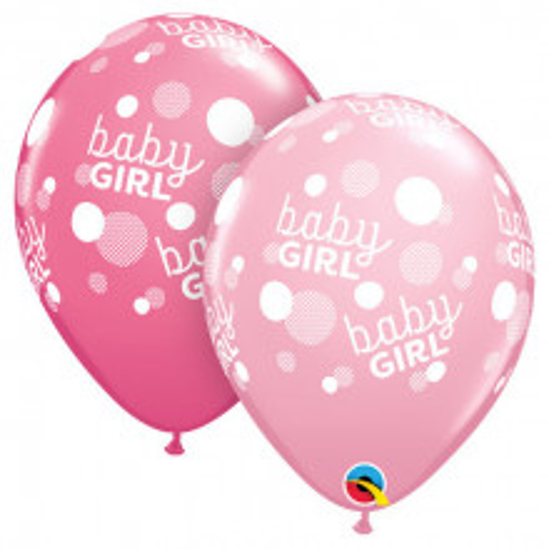 Balloon Baby girl pink