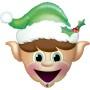 Christmas Elf - folija balon