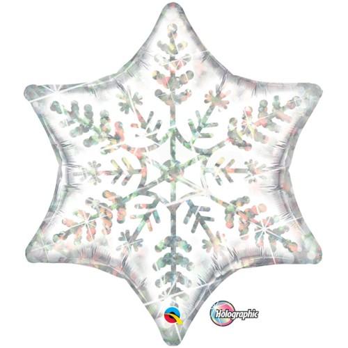 Dazzling snowflakes - folija balon