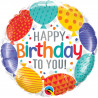 Happy Bday to you balloons - folija balon