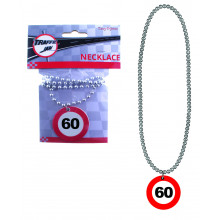 Traffic sign necklace 60