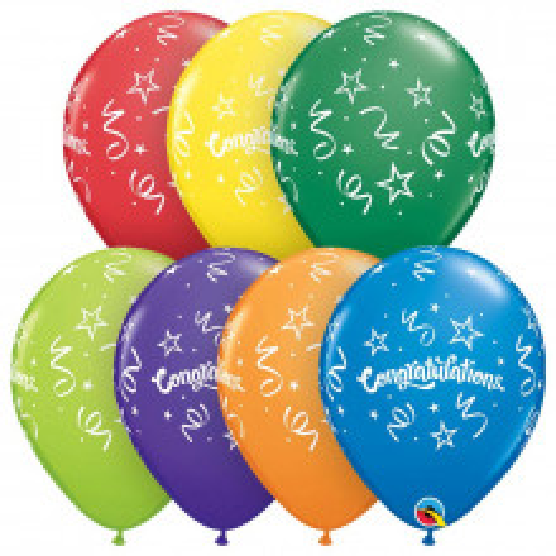 Balloon Congratulations Streamers