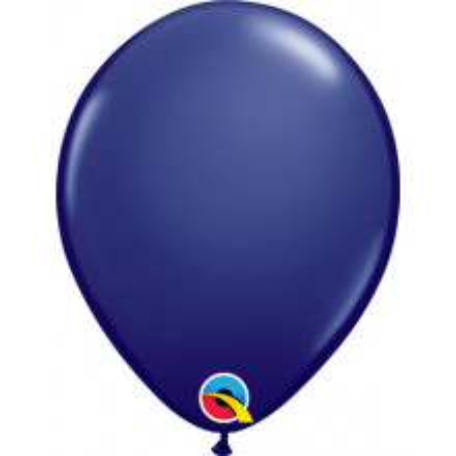 "Balloons 5"" - navy modra"