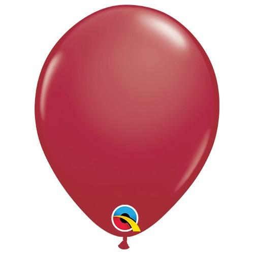 """Balloons 5"""" - maroon"""