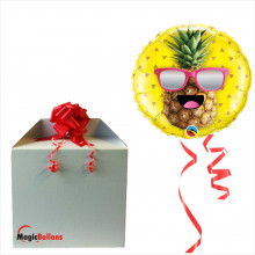 Mr. Cool Pineapple - Folienballon in Paket