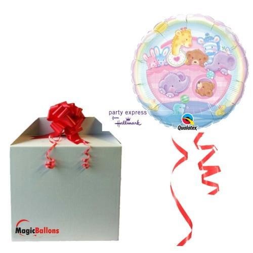"Ballon "" Adorable Ark "" m. Helium befüllt"