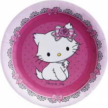 Charmmy Kitty paper plates 18 cm