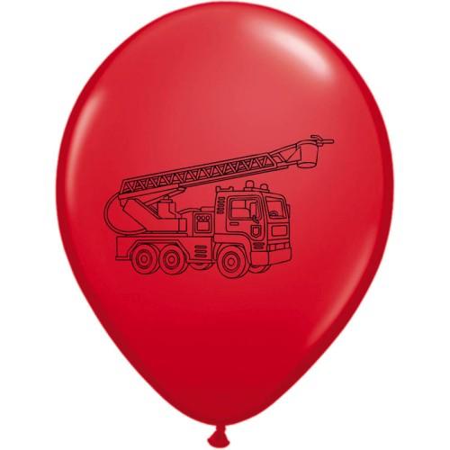 Balloon Fire Truck