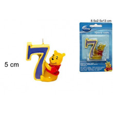 Winnie the Pooh candle 7