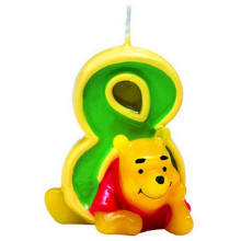 Winnie the Pooh candle 8