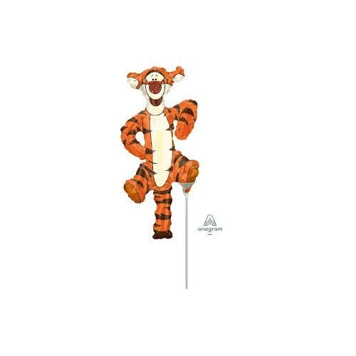 Tigger - foil balloon on a stick