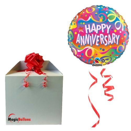 Anniversary Confetti napihnjen