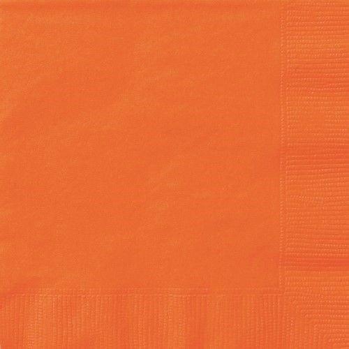 Luncheon napkins - Orange