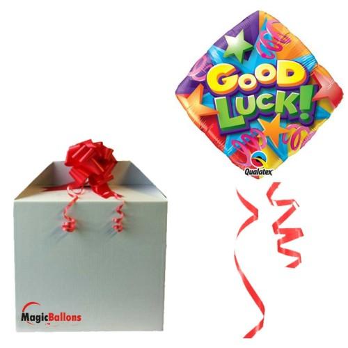 Balloon Good Luck Stars & Streamers