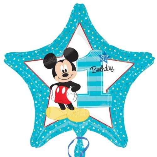 Mickey 1st Birthday - foil balloon