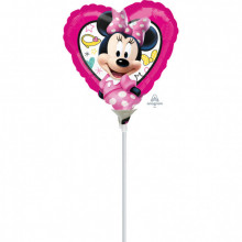 Minnie Happy Helpers - foil balloon on a stick
