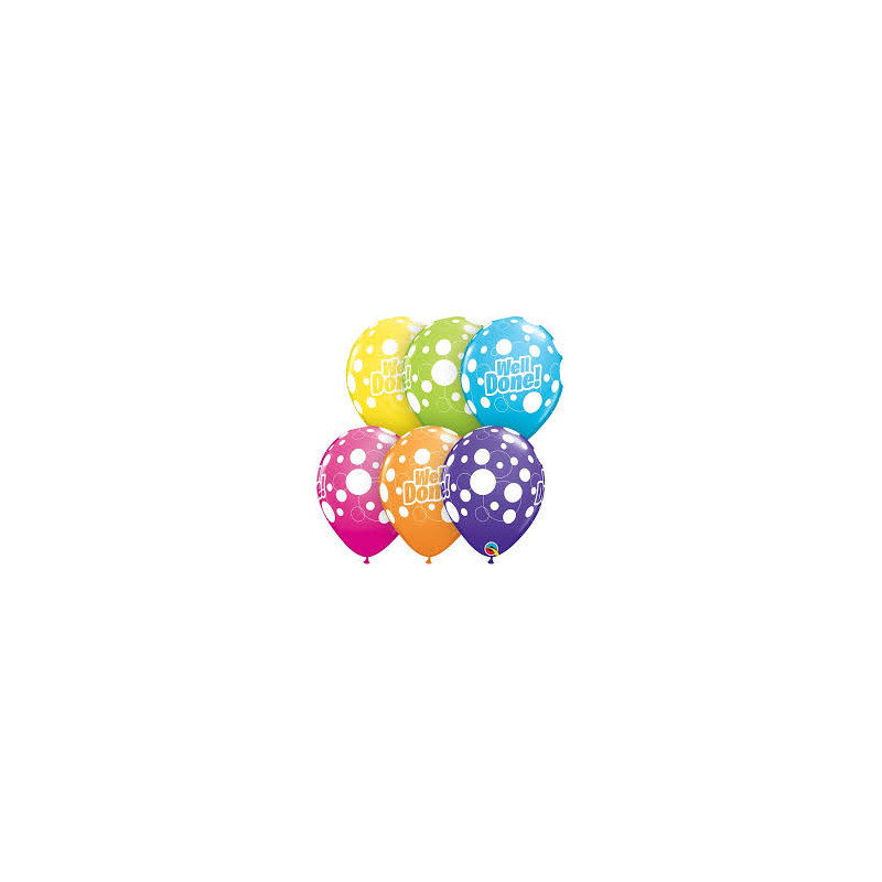 Balloon Get Well Dots