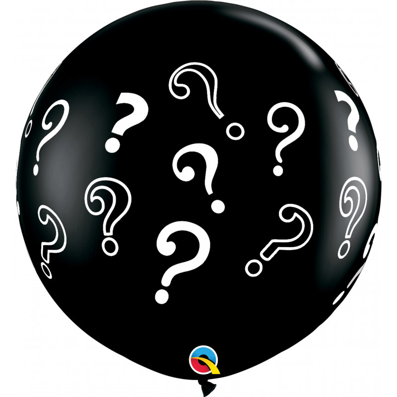 Giant balloon - Question Marks