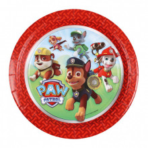 Paw Patrol plates 23 cm
