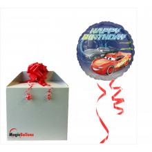 Cars Happy Birthday - foil balloon in a package