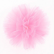 Puff Pom tulle decoration - pink