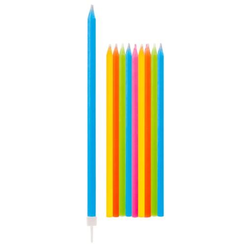 Svečniki z držali - barvita