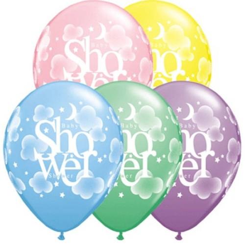Ballon Heavenly Baby Shower