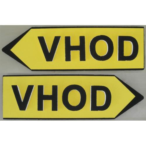 Signpost Vhod