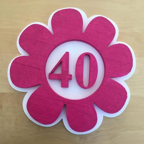 Decoration flower 40