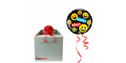 Smileys Happy Bday - foil balloon in a package