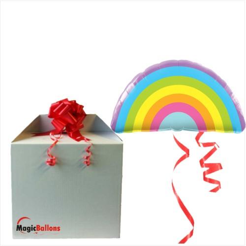 Radiant Rainbow  - Folienballon in Paket