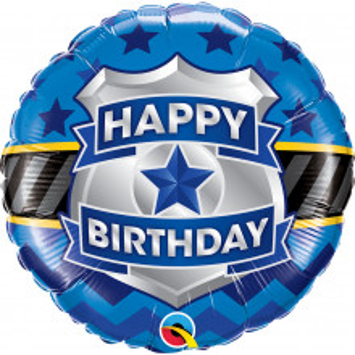 Bday Badge - foil balloon