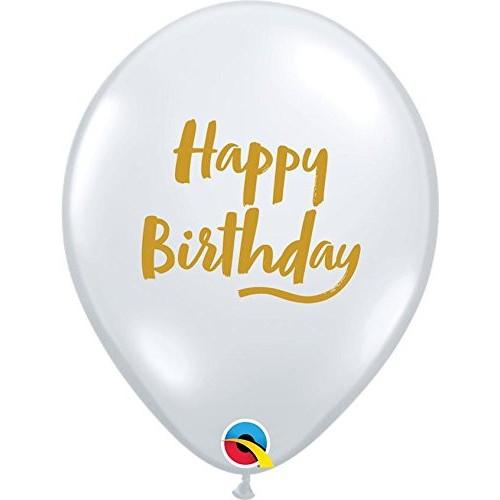 Balloon Bday Brush Script