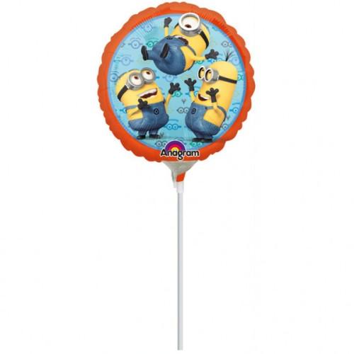 Despicable Me - foil balloon on a stick