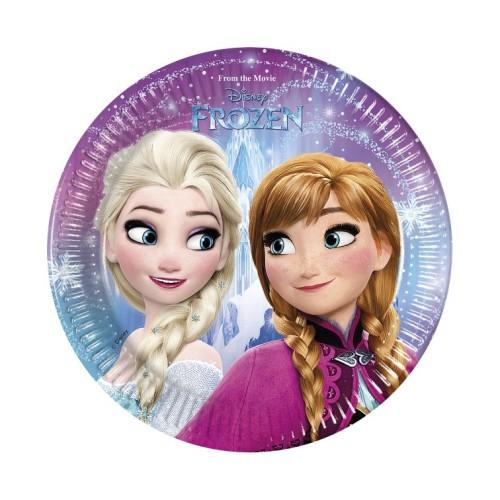 Frozen plates 20 cm