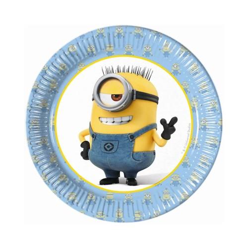 Minions plates 20 cm