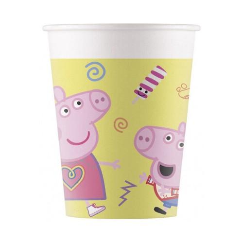 Peppa Pig - cups 8 pcs